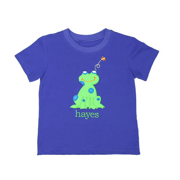 Happy Frog Tyler Applique Tee
