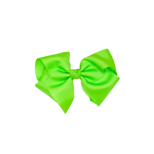 Happy Frog Medium Classic Lime Bow