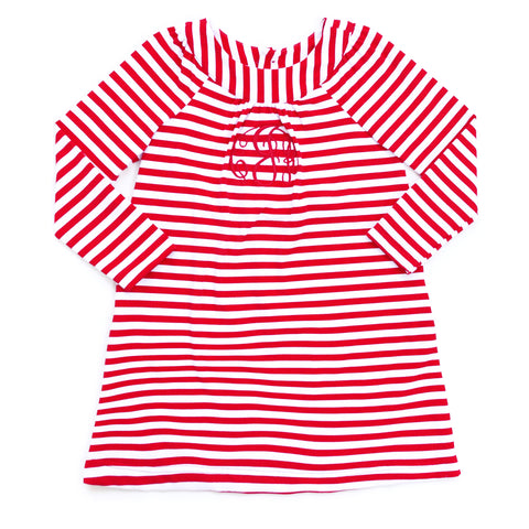 Red Stripe Milly Dress