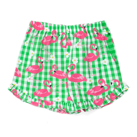 Flamingo Fun Lulu Shorts