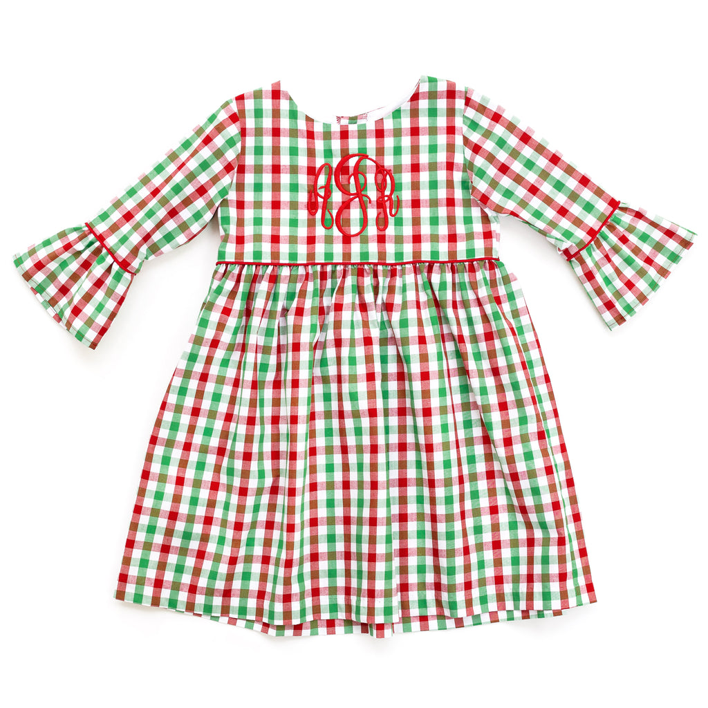 Christmas Check Mary Grace Dress