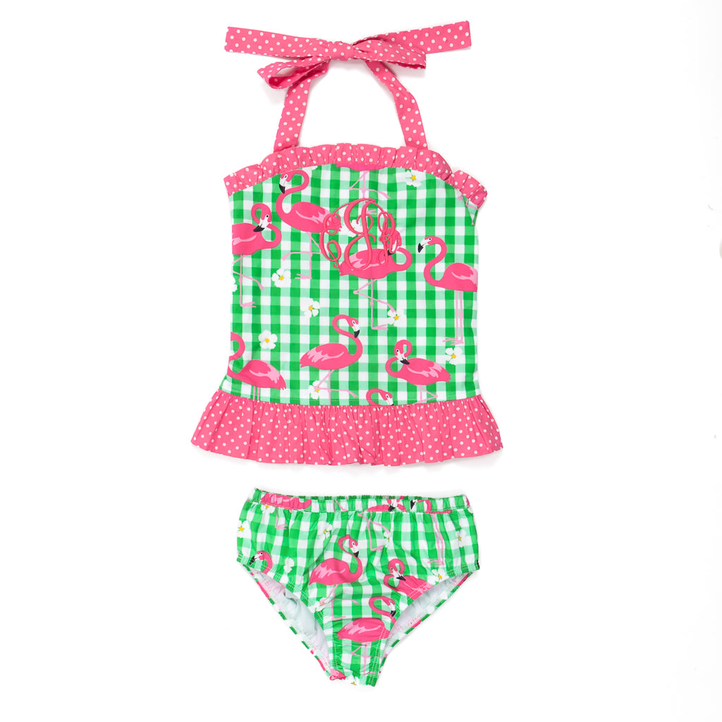 Flamingo Fun Liliana Tankini Set