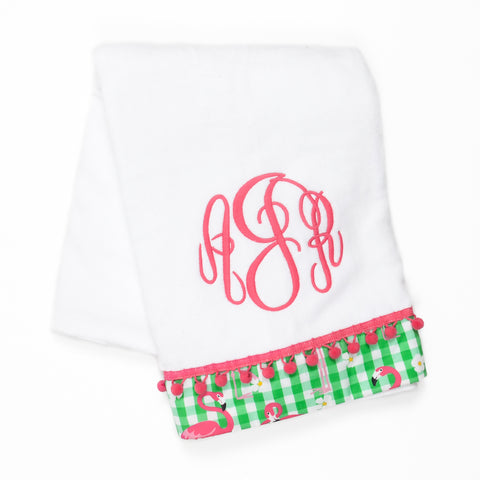 Flamingo Fun Fisher Towel