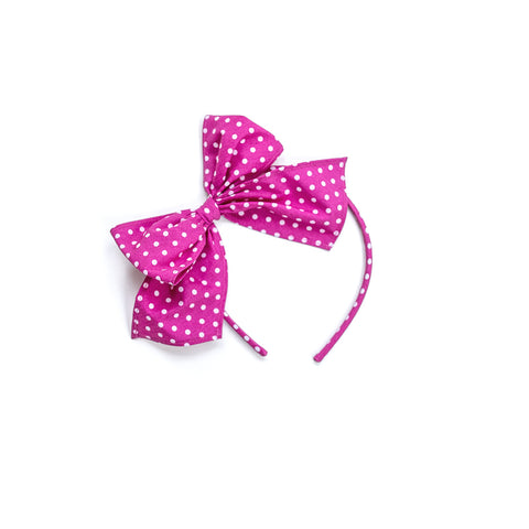 Pink Dot Bea Headband