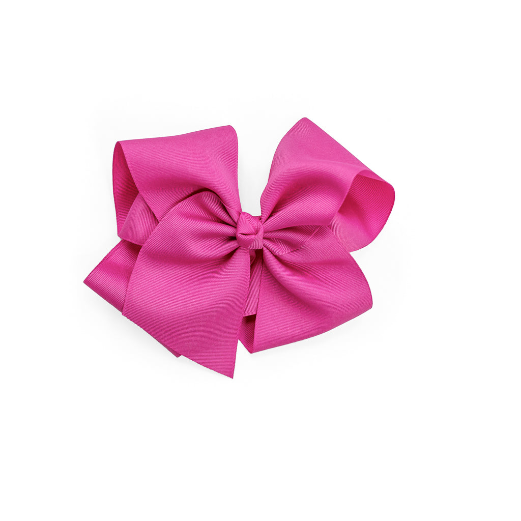 Large Classic Hot Pink Bow
