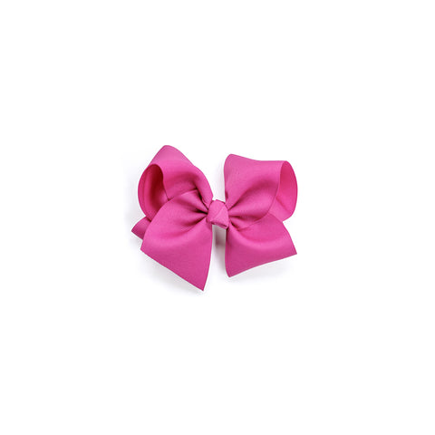 Medium Classic Hot Pink Bow