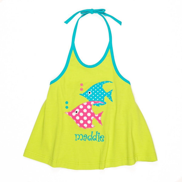 Under the Sea Gia Halter Top