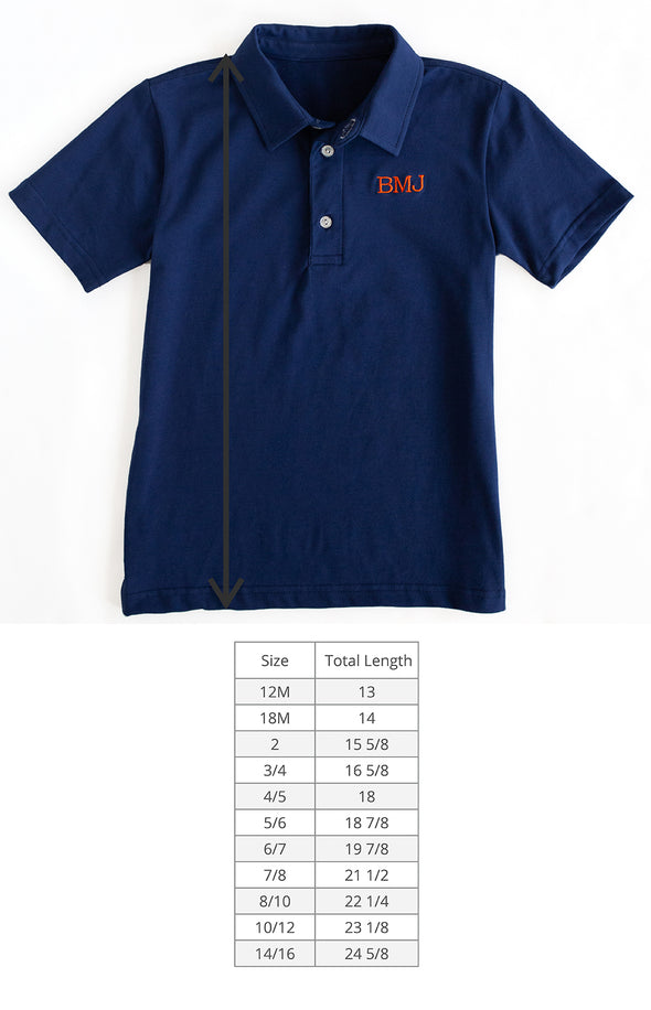 Navy Connor Polo