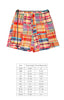 Preppy Patchwork Mason Short