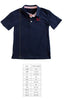 Navy Sailboat Connor Polo