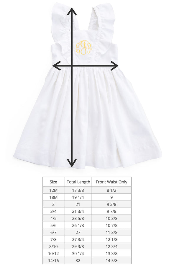 White Linen London Dress