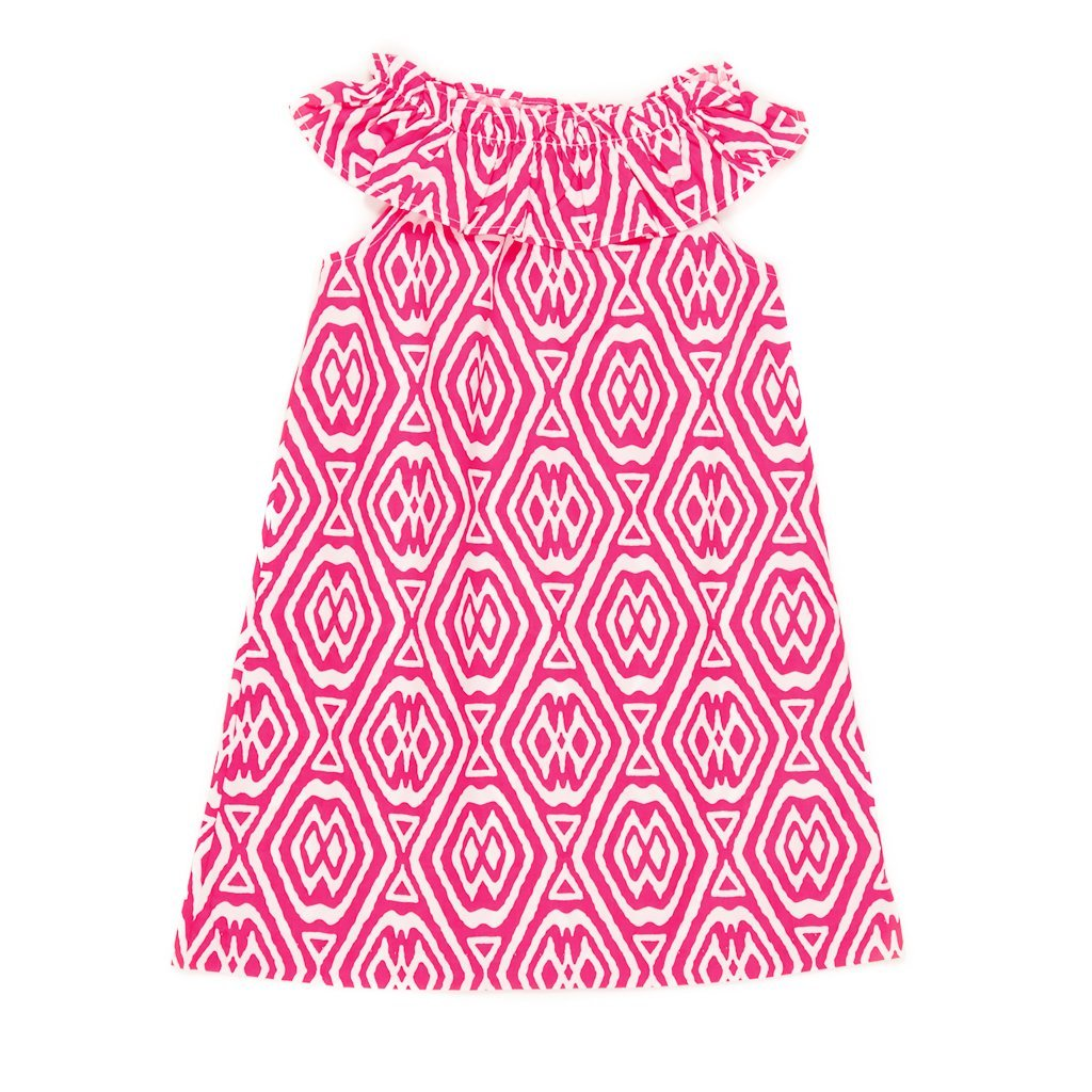Summer Swim Ikat Michaela Dress