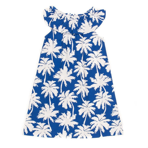 Summer Swim Palm Tree Michaela Dress