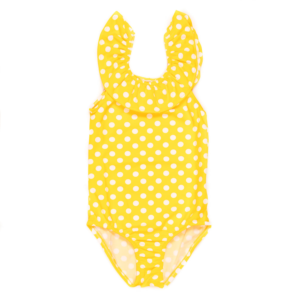 Summer Swim Yellow Cali One Piece