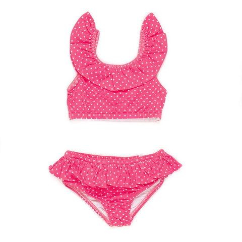 Summer Swim Pink Cali Bikini Set