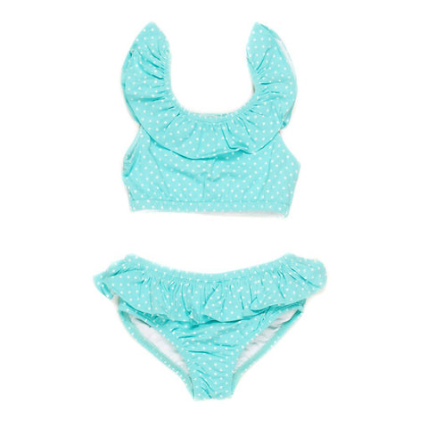 Summer Swim Aqua Cali Bikini Set