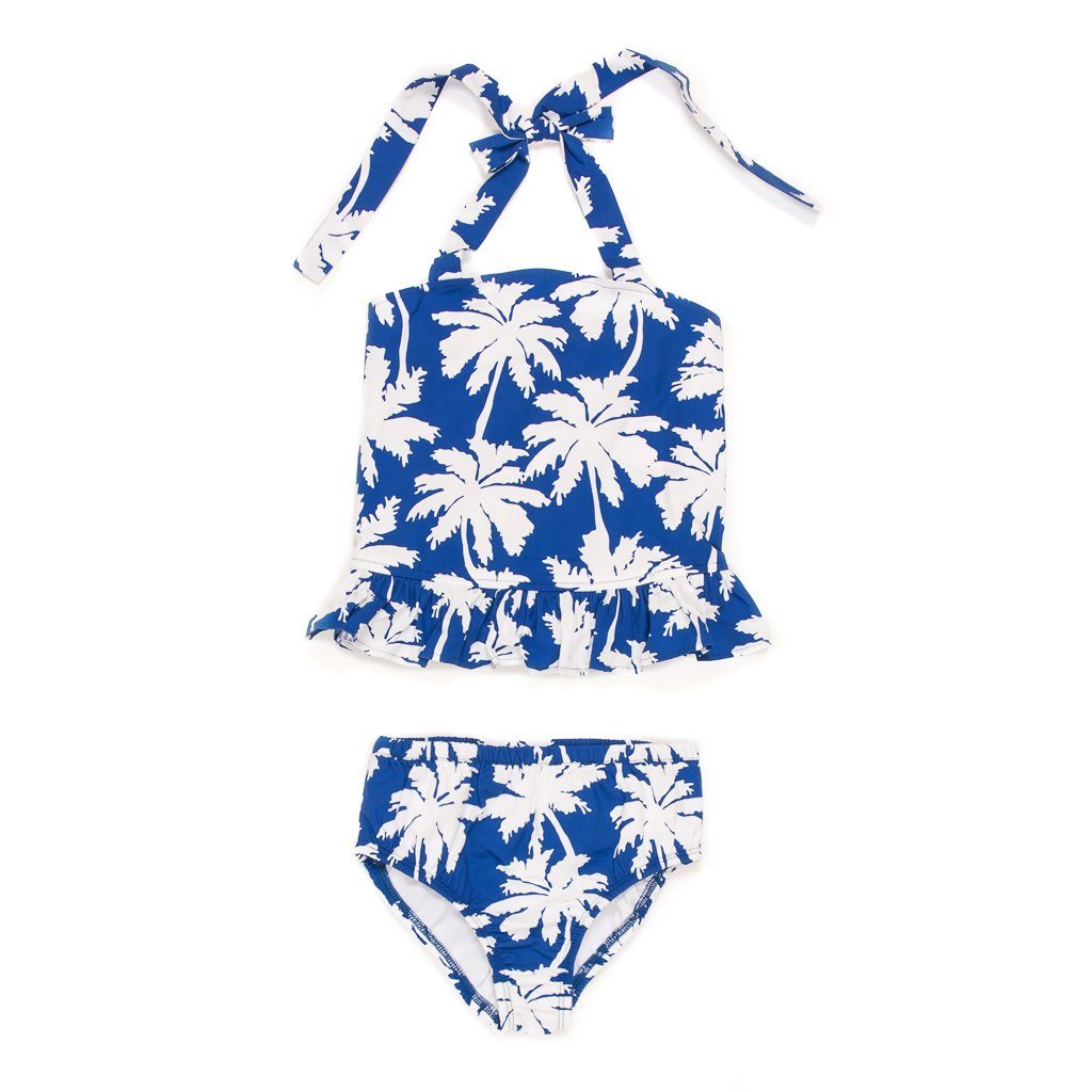 Summer Swim Palm Tree Liliana Tankini Set