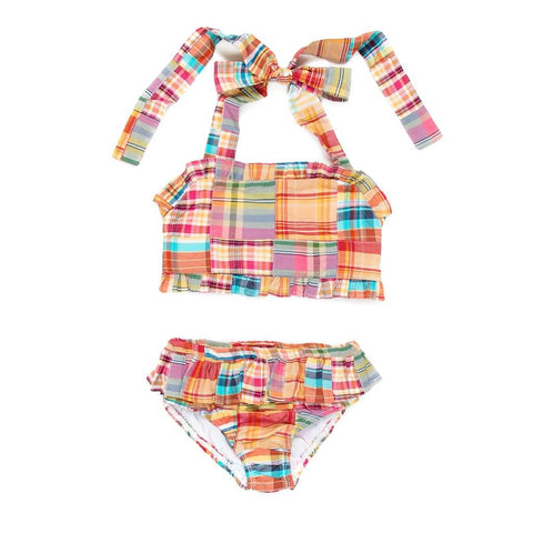 Summer Swim Patchwork Dana Bikini Set