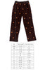 Pumpkin Embroidered Jacob Pant