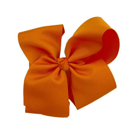 Large Classic Torrid Orange Bow