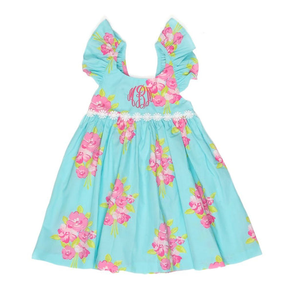 Easter Floral Serena Dress