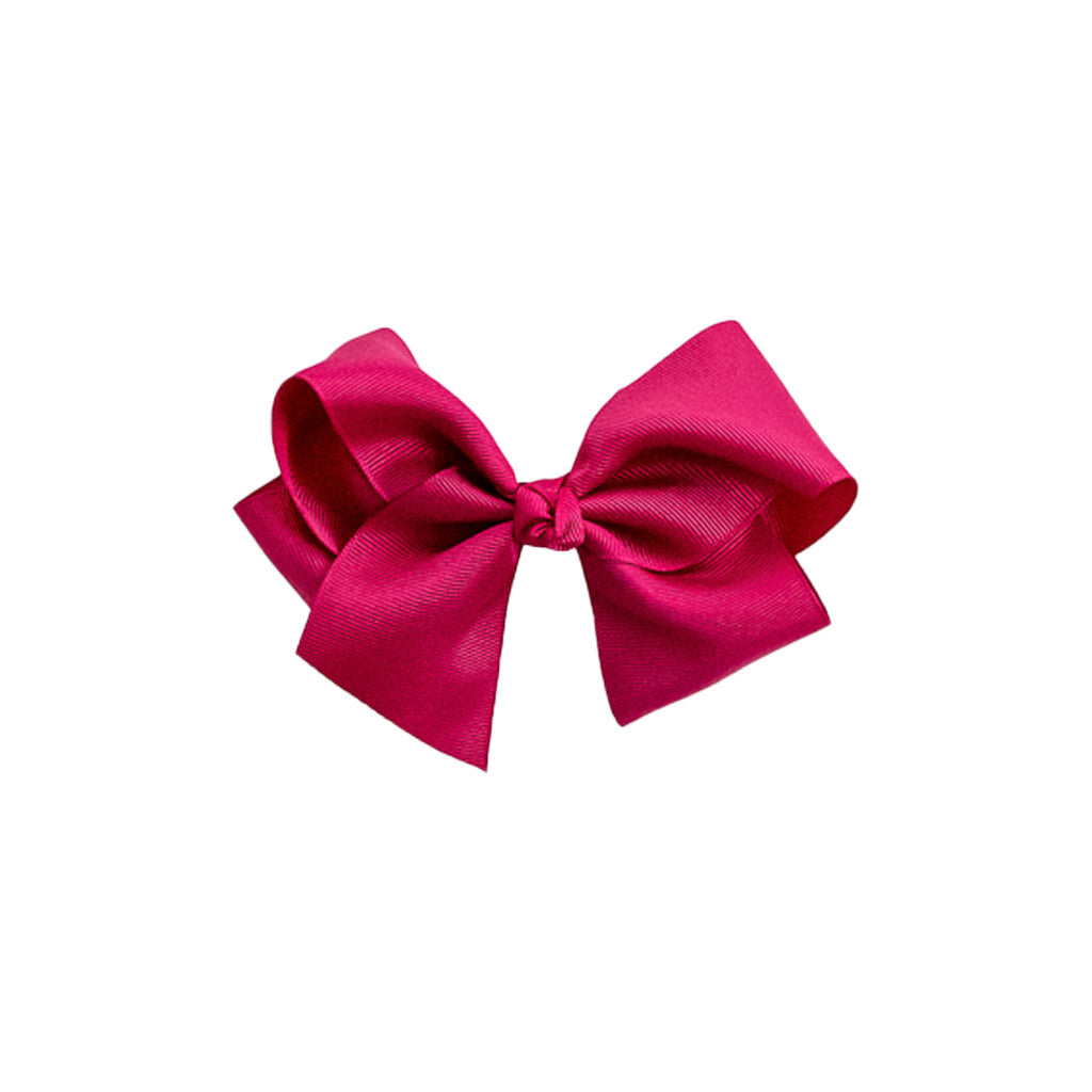 Large Hot Pink Classic Bow