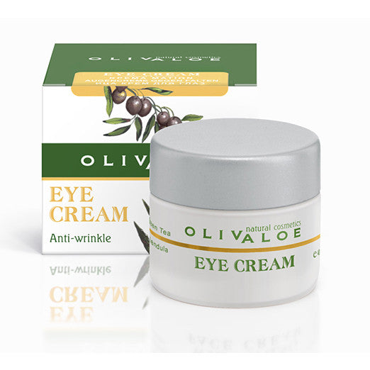 OlivAloe Anti-wrinkle Eye cream  The Organic Skin