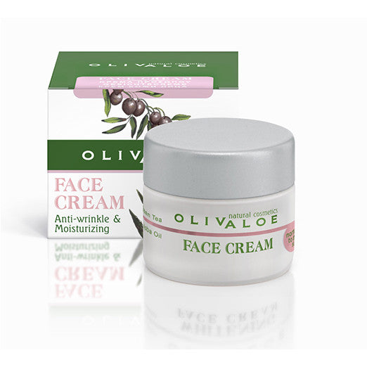 OlivAloe  Face Cream (Normal to dry skin)  The Organic Skin