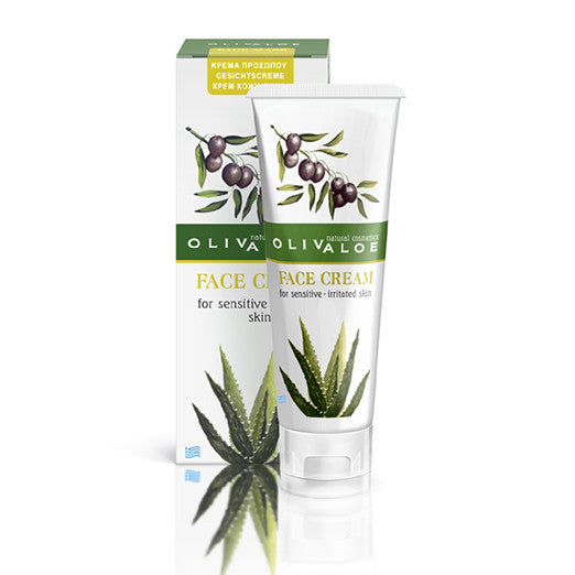 OlivAloe  Face cream for sensitive and irritated skin with acne The Organic Skin