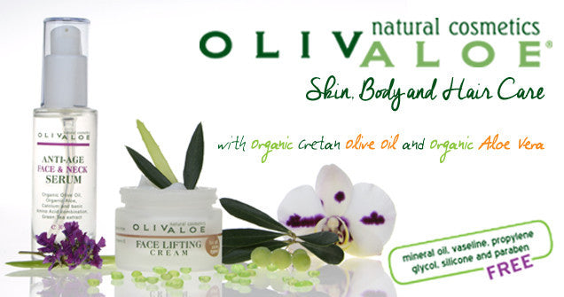 Olivaloe anti-aging and face lifting creams
