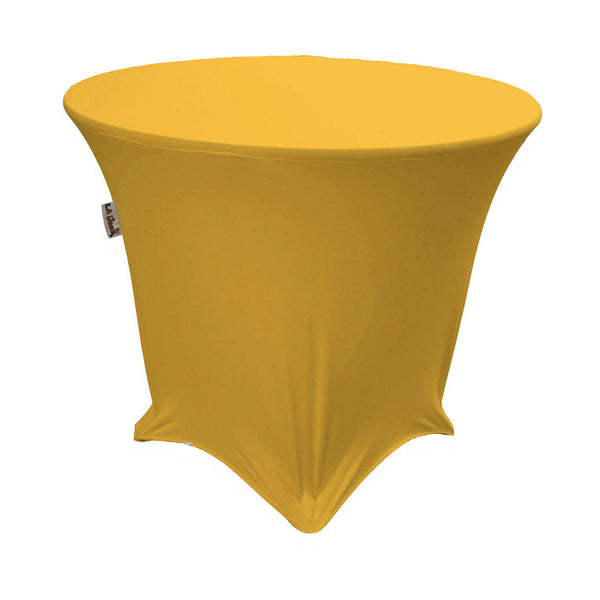 "36"" Round x 30"" High, Stretch Spandex Tablecloth"