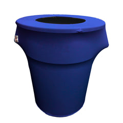 Spandex Trash Can Cover for 55-Gallon. Made in USA