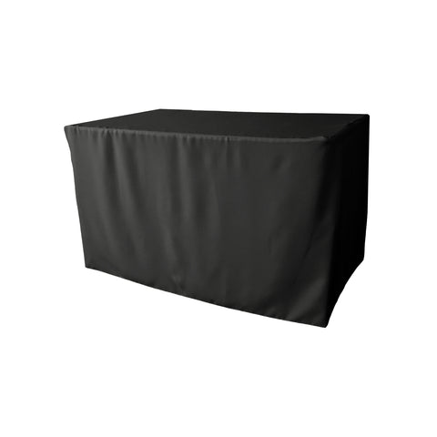 "Polyester Poplin Fitted Tablecloth 48"" x 24"" x 30"""