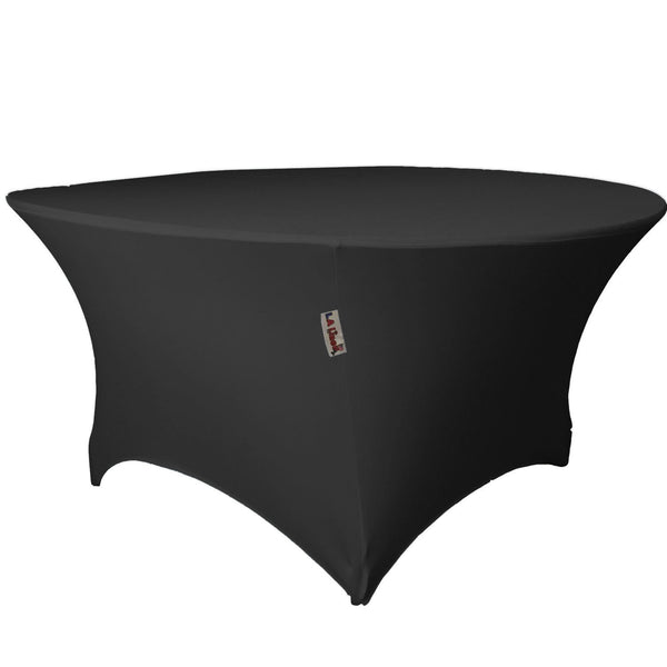 "48 "" Round, 30"" High, Stretch Spandex Tablecloth"