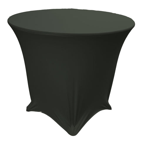 "30 "" Round, 30"" High, Stretch Spandex Tablecloth"