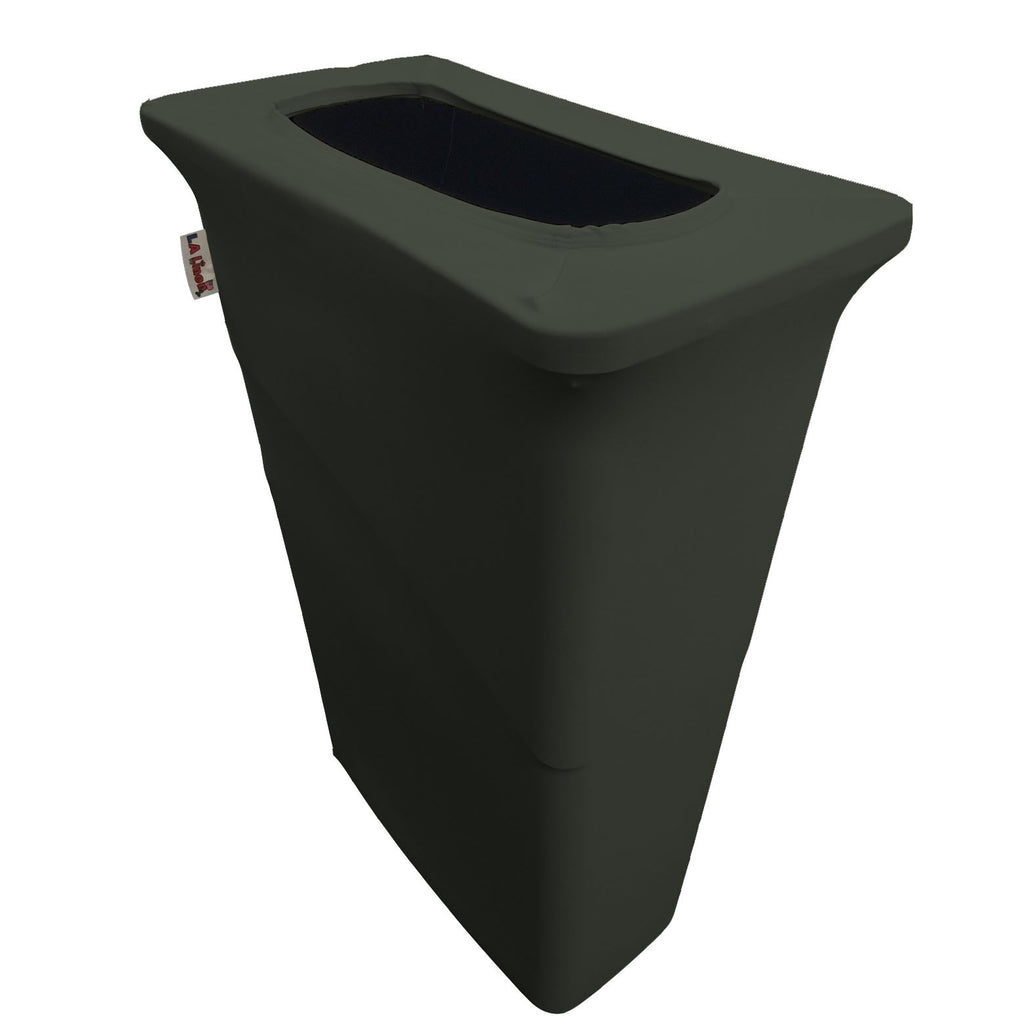 made in usa spandex trash can cover for slim jim 23gallon