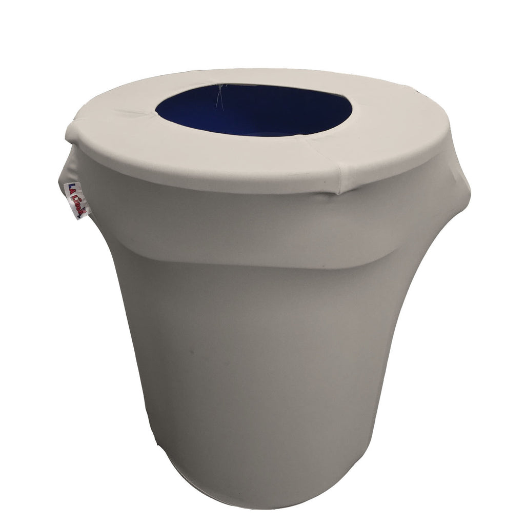 Spandex Trash Can Cover for 32-Gallon - LA Linen