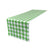 "Checkered 14"" X 108"" Table Runner"