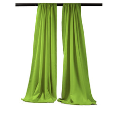 Polyester Poplin 8 Foot High by 58 Inch Wide Drape/Backdrop, Pack-2