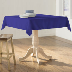 "Polyester Poplin 52"" x 52"" Tablecloth"