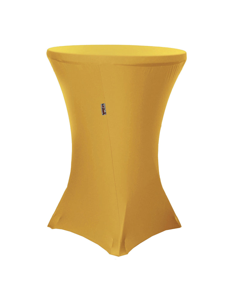 32 Inch Round By 42 Inch High Stretch Spandex Cover For