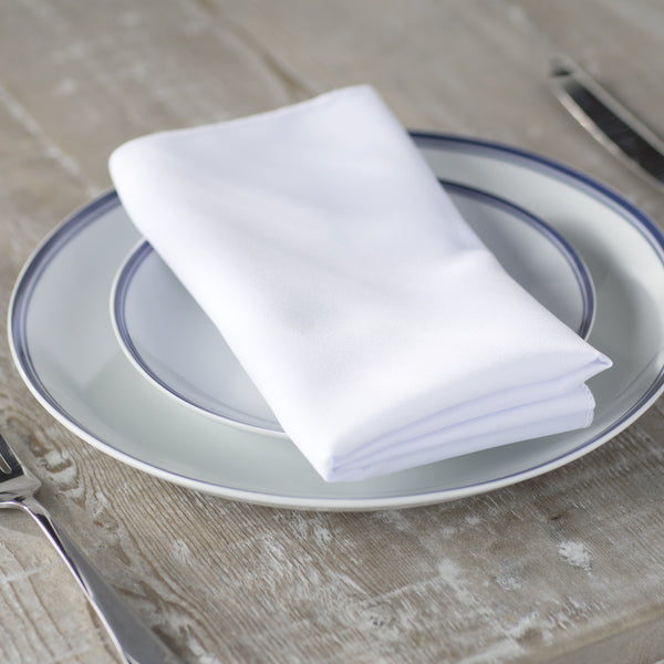Polyester Poplin Napkin 18 by 18-Inch Pack of 10