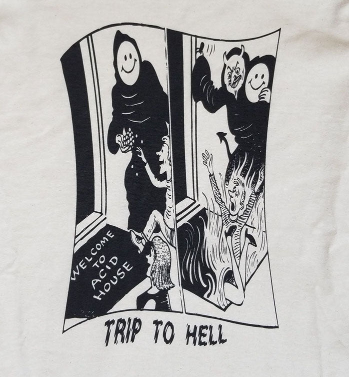 TRIP TO HELL LS TEE [REPRINT]