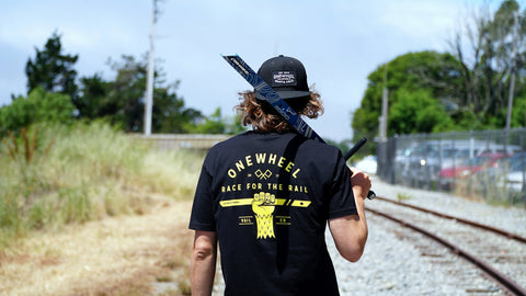 Race for the Rail Tee - 2017 Limited Edition