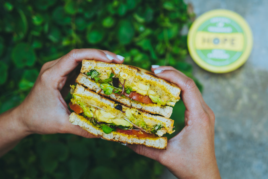 Recipe: Spicy Chickpea Avocado Sandwich