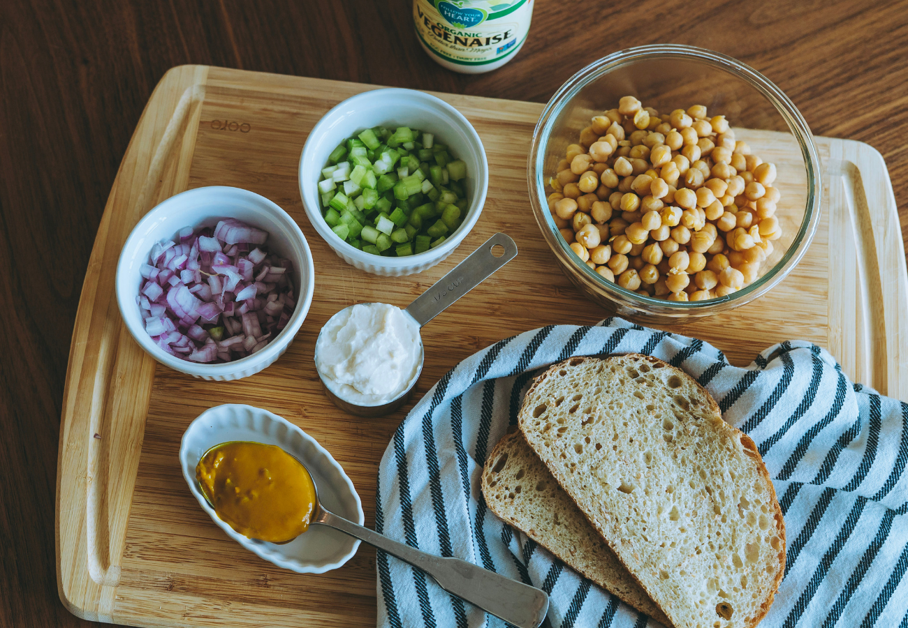 Follow Your Heart Vegan Chickpea Recipe Ingredients
