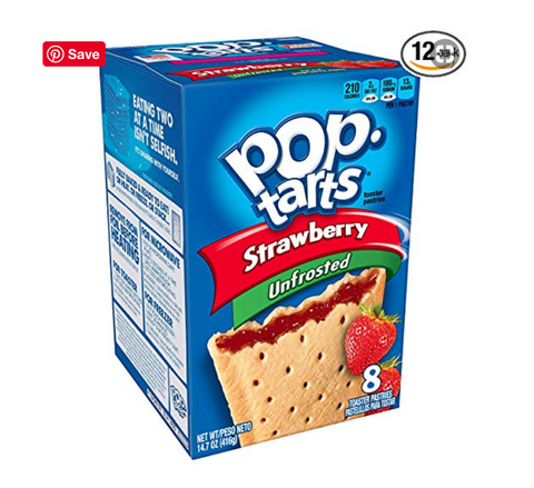 Pop Tarts on Vegetaryn's Amazon