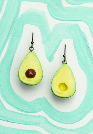 Load image into Gallery viewer, AVOCADO EARRINGS