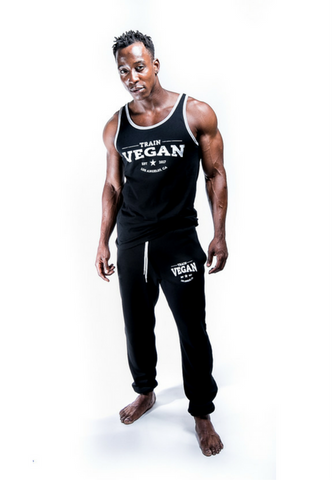 THROWBACK TANK - TRAIN VEGAN (Unisex)