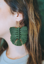 MACRAME EARRINGS (More Color Options)